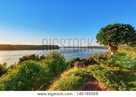 Awesome Scenic Bay View In Tacoma