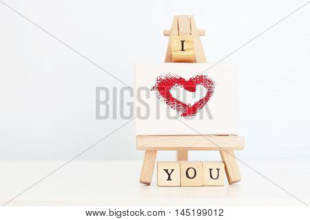 This is photo - greeting card Saint Valentine