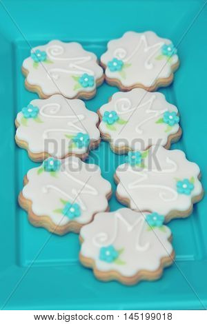 This is a photo of cute cookies