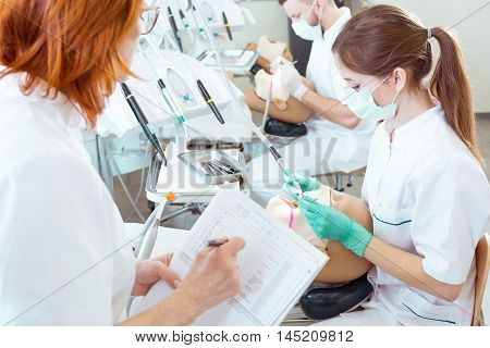 Assesing Their Skills In Cavity Treatment