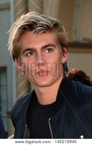 LOS ANGELES - AUG 31:  Presley Gerber at the