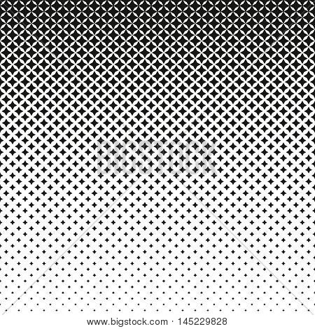 Halftone Star Gradient Pattern . Halftone effect. Repeating background texture