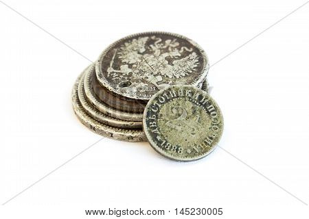 Old Expired Coins. Bulgarian Coins And Silver Coins