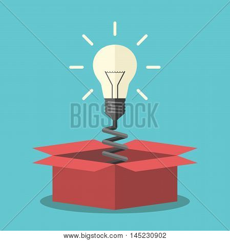 Light Bulb From Box
