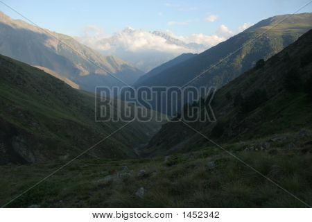 Evening Valley, Caucasus