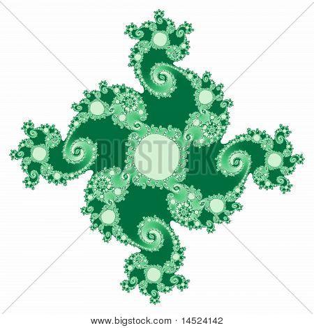 Turbo Swirl in Green