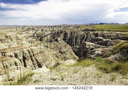 Badlands Wilderness, South Dakota Badlands National Park