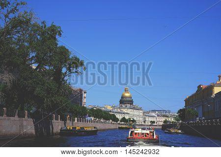 Channels In St. Petersburg