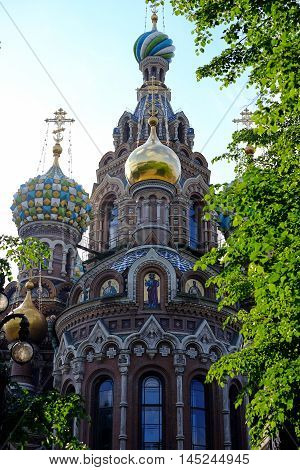 Church of the Savior on Blood blood savior spilled