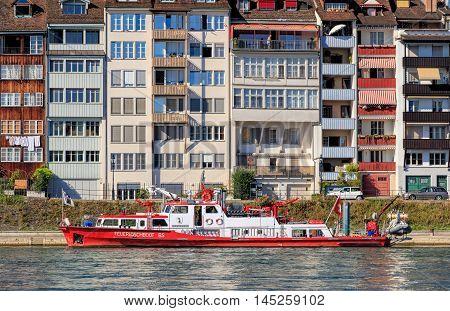 Basel, Switzerland - 27 August, 2016: the