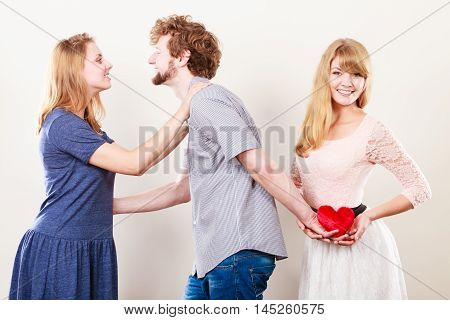 Handsome Man Betrayed Women