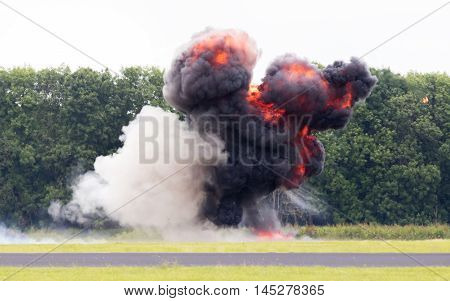 Airfield Planned Explosion