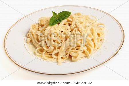 Fettuccine All Alfredo Plate