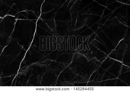 Black marble natural pattern for background abstract natural marble black and white