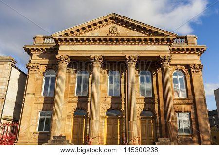 First Derry Presbyterian Church. Derry Northern Ireland United Kingdom.