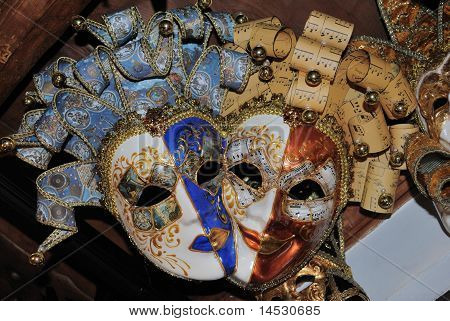 Beautiful Venetian Masks