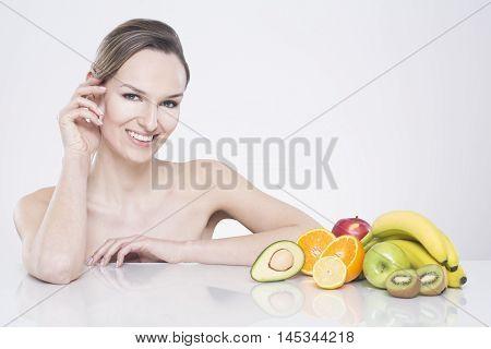 Always Choose Healthy Food Full Of Vitamins
