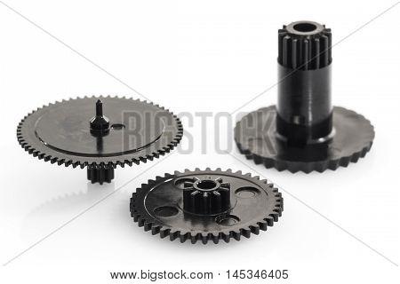 Black Gear Plastic Wheel