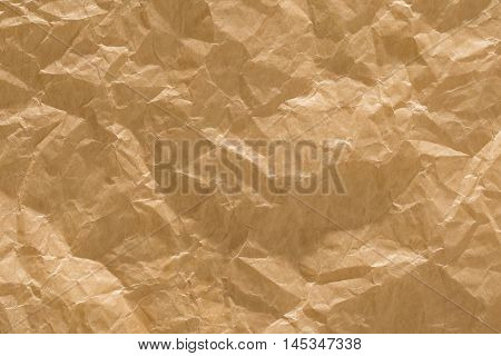 Rough Paper Background Old Brown Creased Wrinkled Texture