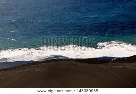 Waves And Beach
