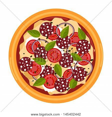 Pizza related pictures kinds of pizza on board, logos, italian cook and pizza delivery. Thinly sliced pepperoni is a popular pizza topping pizzerias. Pizza food italian cheese dinner symbol.