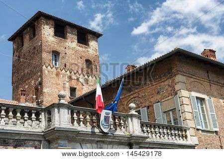 Fagnano Olona (Varese Lombardy Italy): the medieval castle built in the 15th century