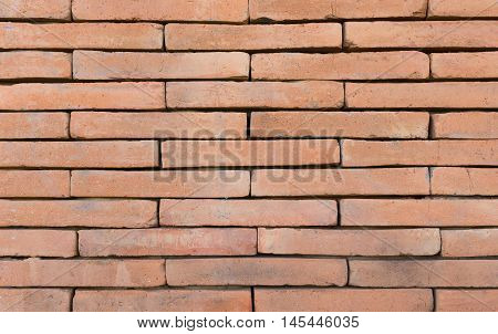 Molder wall brick and stone on background