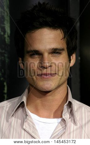 Greg Rikaart at the World premiere of 'Amityville Horror' held at the Arclight Cinerama Dome in Hollywood, USA on April 7, 2005.