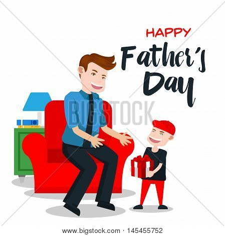 Happy Father's Day Card - Special Gift For Daddy