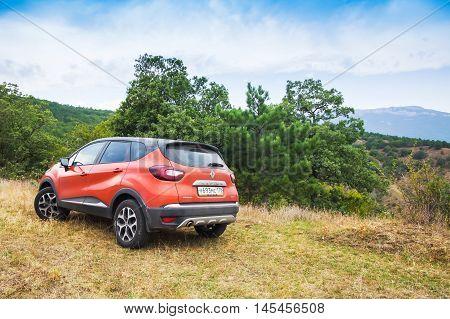 New Renault Kaptur Car