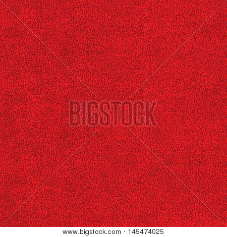 Red texture with effect paint. Empty surface background with space for text or sign. Quickly easy repaint it in any color. Template in square format. Vector illustration swatch in 8 eps