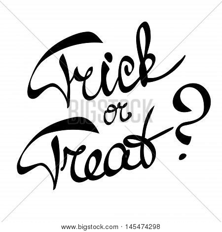 Traditional Halloween children`s question