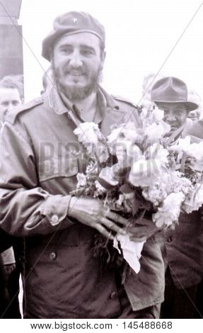 Yangiyer, Uzbekistan - May 10, 1963: The Fidel.