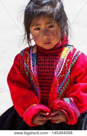 Young Peruvian Boy