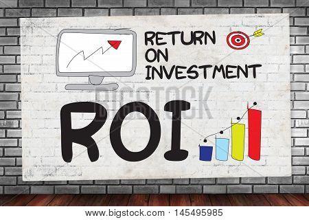Roi Return On Investment Businessman Work Roi