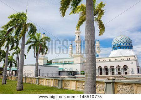 Kota Kinabalu City Mosque (The Floating Mosque) or Masjid Bandaraya Kota Kinabalu