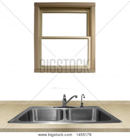 Kitchen Sink And Counter