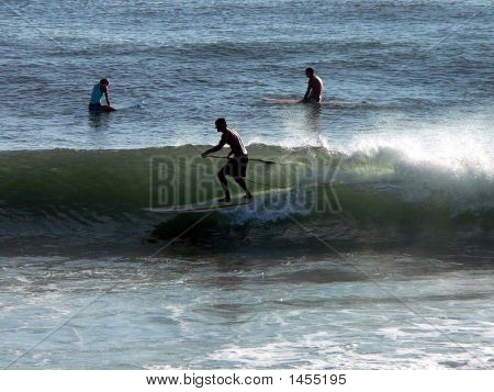 Surfing With Paddle2