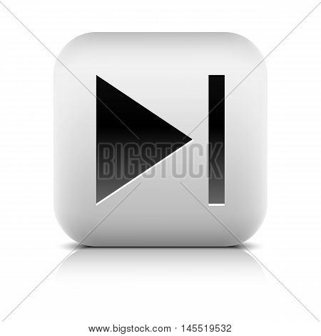Media Player Icon With Next Sign