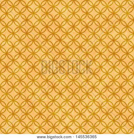 Orange Circles Tile Pattern Repeat Background that is seamless and repeats