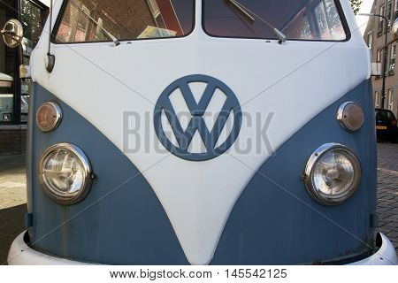 Front Of A Volkswagen T1 Transporter