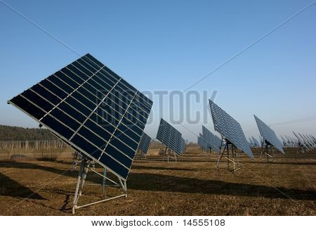 photovoltaic park