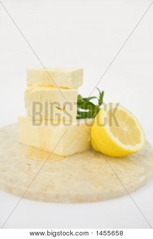 Feta Cheese With Honey