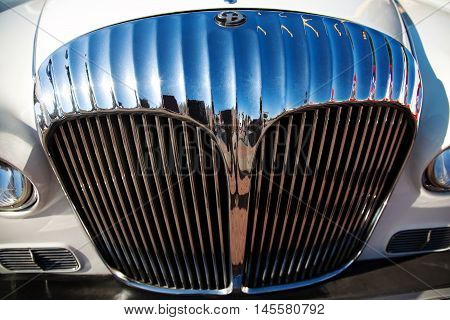 Classic Old Car Front View