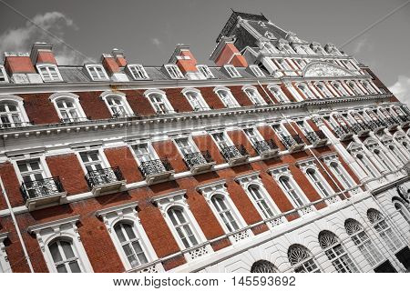 An example of High Victorian architecture in the UK