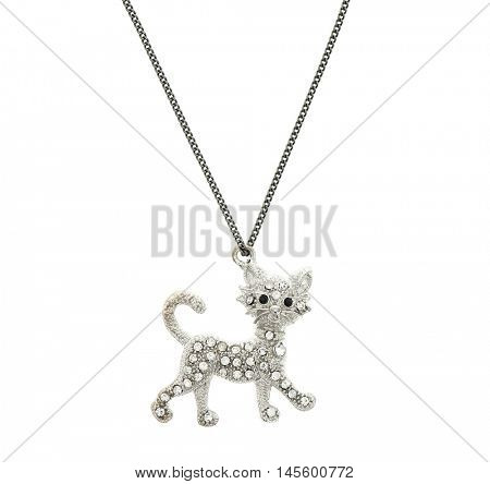 Pendant in the shape of a cat