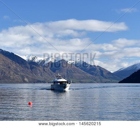 Scenic cruise into untouched wilderness to discover Lake Wakatipu.