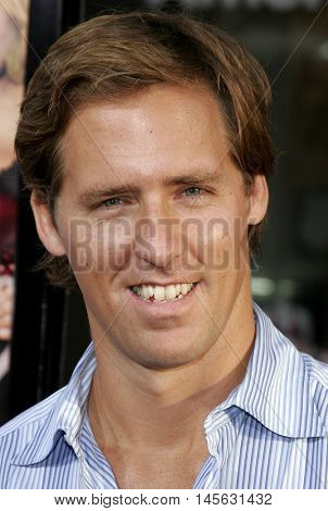 Nat Faxon at the Los Angeles premiere of 'Beerfest' held at the Grauman's Chinese Theatre in Hollywood, USA on August 21, 2006.