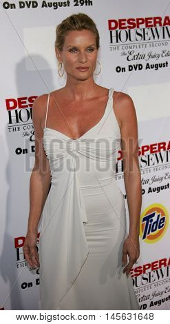 Nicollette Sheridan at the 'Desperate Housewives: Season 2 - Extra Juicy Edition' DVD Launch Event held at the Wisteria Lane Universal Studios in Universal City, USA on August 5, 2006.