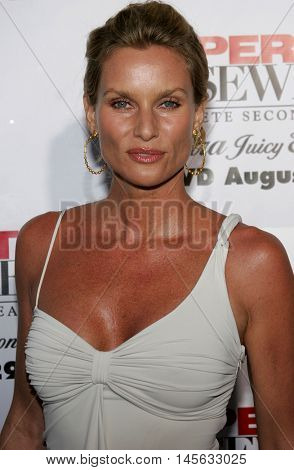 Nicollette Sheridan at the 'Desperate Housewives: Season 2 - Extra Juicy Edition' DVD Launch Event held at the Universal Studios in Universal City, USA on August 5, 2006.